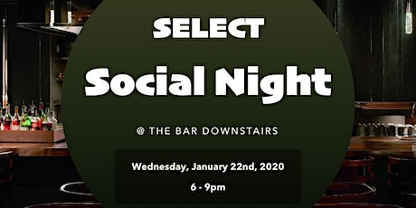 SELECT Social Night @ The Bar Downstairs tickets