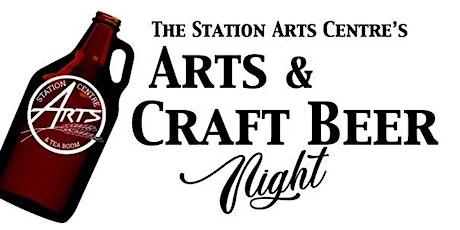 4th Annual Arts & Craft Beer Night Fundraiser tickets