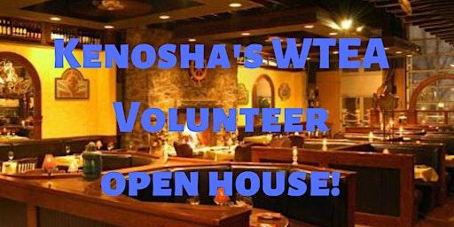 Kenosha's WTEA Volunteer  open house!