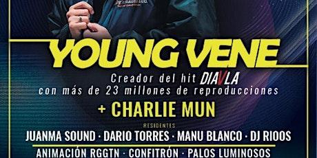 RGGTN YOUNG VENE + CHARLIE MUN entradas
