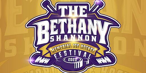 The Bethany-Shannon Memorial Ice Hockey Festival 2020