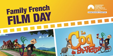 FAMILY FRENCH FILM DAY tickets