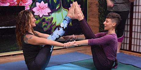Acro Yoga with Jenn and Hannah tickets