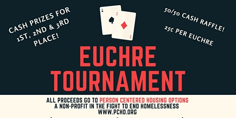 Euchre Tournament to Benefit PCHO tickets