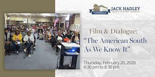 """Film & Dialogue: """"The American South As We Know It"""""""
