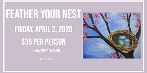 Friday Night Art: Feather Your Nest