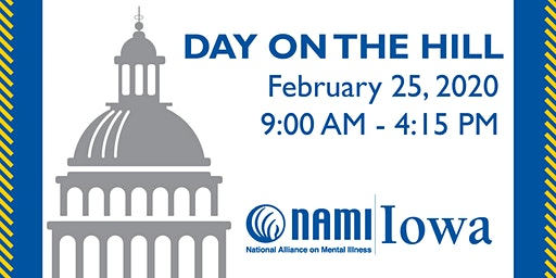 NAMI Iowa Day On The Hill