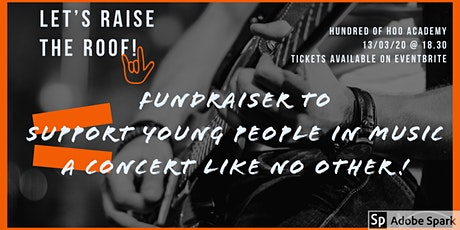 Fundraiser to support young people in music tickets