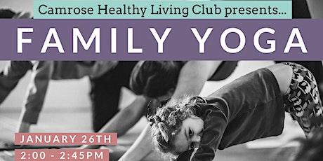 Camrose Healthy Living Club Family Yoga tickets