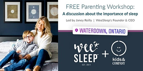 Kids & Company Waterdown WeeSleep Parent Workshop  tickets