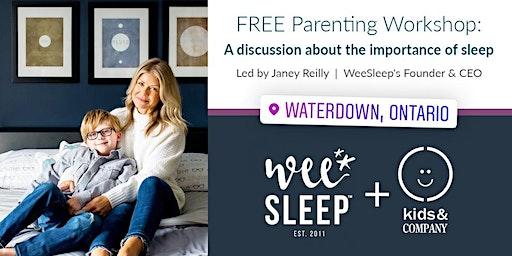Kids & Company Waterdown WeeSleep Parent Workshop