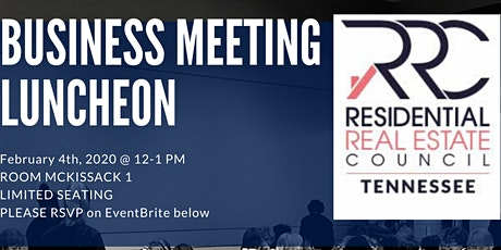 RRC  TNEX20  Business  Meeting Luncheon tickets