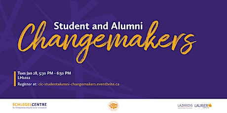 CIC Student and Alumni Changemakers tickets