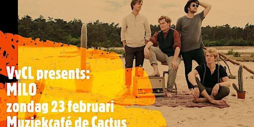 MILO, liveconcert van een alternatieve pop/rockband uit Zwolle