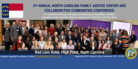 NC Family Justice Center and Collaborative Communities Conference 2020 tickets