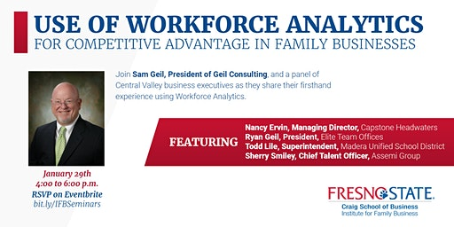 Use of Workforce Analytics for Competitive Advantage in Family Businesses
