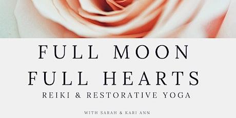 Full Moon Reiki & Restorative Yoga Event  tickets