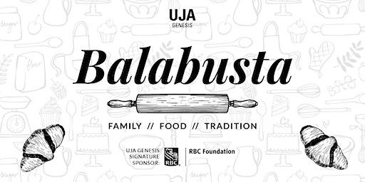 Balabusta - A baking demo featuring Amy Rosen