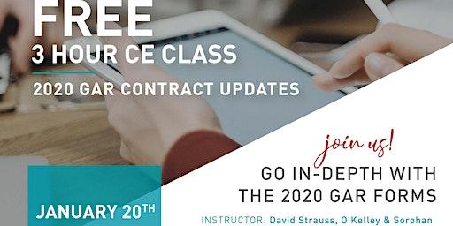 2020 GAR Contract Updates CE Class