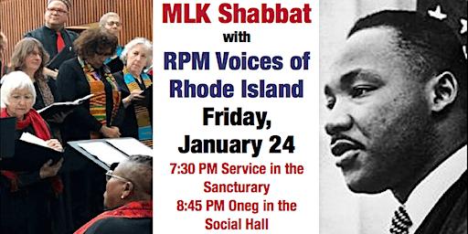 MLK Shabbat with RPM Voices of Rhode Island
