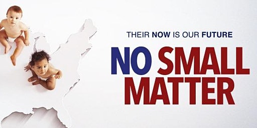 "Film Showing: ""No Small Matter"""