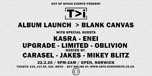 T>I's  ALBUM LAUNCH > BLANK CANVAS