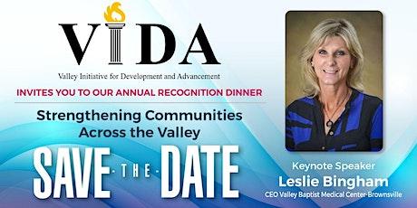 VIDA Annual Recognition Dinner boletos