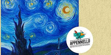 Falconara (AN): Stelle e Van Gogh, un aperitivo Appennello biglietti