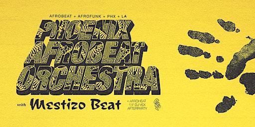 PHOENIX AFROBEAT ORCHESTRA w/ MESTIZO BEAT