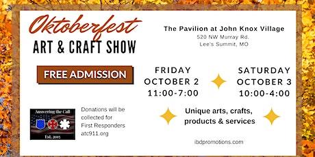 Oktoberfest Art & Craft Show tickets
