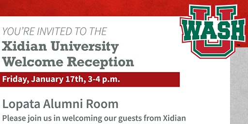 Xidian University Welcome Reception