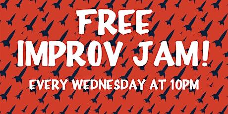 Free Improv Jam! tickets
