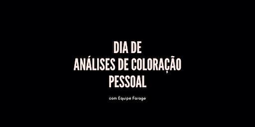 Dia de Análise de Cor em  São Paulo - 07 de março