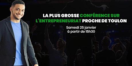 Rejoins le plus gros évènement entrepreneurial de janvier sur Toulon ! billets