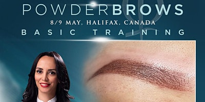 Powder Brows Training - Halifax, Canada, May 2020