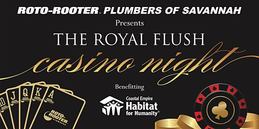 The Second Annual Roto-Rooter Plumbers of Savannah Royal Flush Casino Night