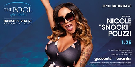 Snooki | Epic Saturdays at The Pool After Dark REDUCED Guestlist tickets