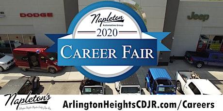 Napleton's Arlington Heights CDJR Career Fair tickets