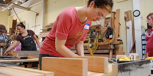 Women's* Intro to Carpentry: Tables and Benches