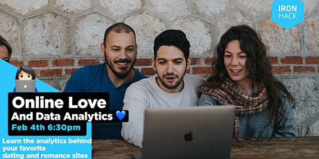 Online Love + Data Analytics - Learn the analytics behind dating sites tickets
