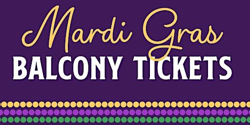Mardi Gras 2020 Balcony Tickets @ Mambo's