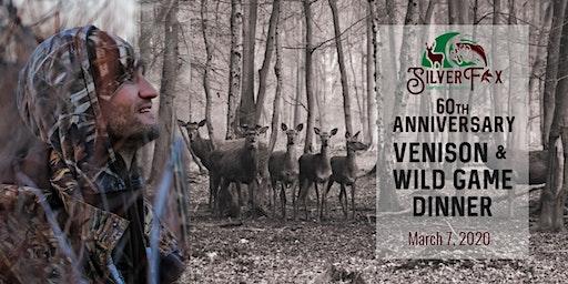 60th Anniversary Venison & Wild Game Dinner
