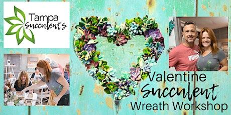 DIY Valentine Succulent Wreath Workshop @ The Refillery St. Pete~  tickets