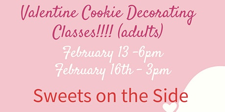 Be Mine Valentine Cookie Decorating Class (adults) tickets