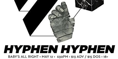 Hyphen Hyphen tickets