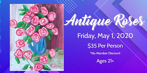 Friday Night Art: Antique Roses