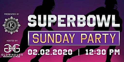 Kranium Stylez Barbershop X GlowHouse Super Bowl Sunday Party