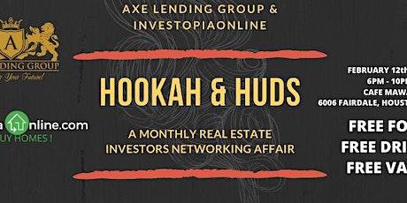 Hookah & HUDs | A Real Estate Investor Mixer | Cafe Mawal tickets