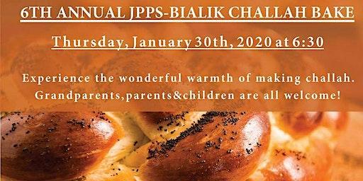 6th annual JPPS-Bialik Family Challah Bake / 6e Hafrashat Challah de JPPS-Bialik