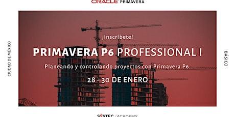 Primavera P6 Professional I tickets